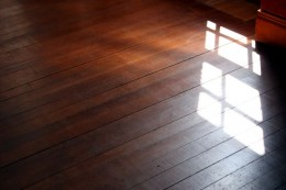 Remove water stains from hardwood floors to restore their beauty.