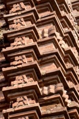 Beautiful cut-brick design