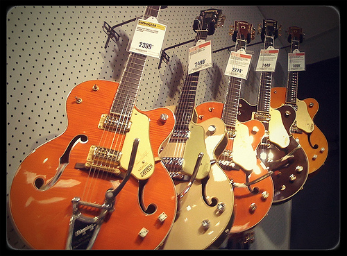 Guitar Shopping? Try A Gretsch.