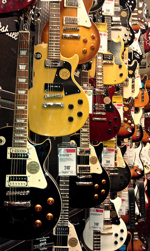 Mmmmm. Guitars.