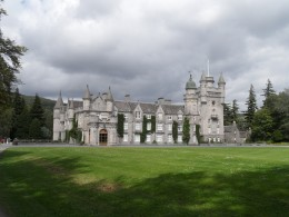 A view of Balmoral from one of the many advantage points