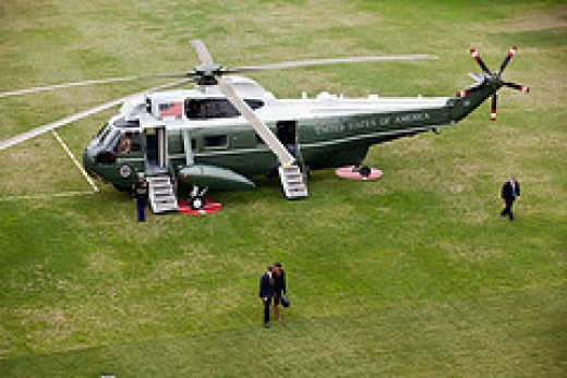 I will never get to ride the White House Helicopter with whomever the president is no matter the year. It's a tough cross to bear being an unknown in your own country.