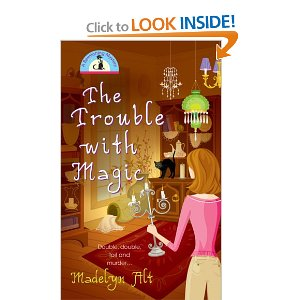"""Maggie turns her back to the """"camera"""" on each cover. Nice, matching art by Monika Roe for each book in the series. Cover design by Judith Morello, interior text design by Stacy Irwin."""
