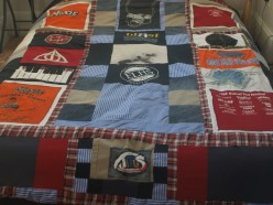 How to Make a Quilt from Old Clothes