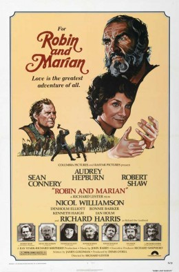 Robin and Marian - poster