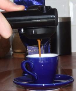 Rich Creamy Espresso! Viva la Crema!