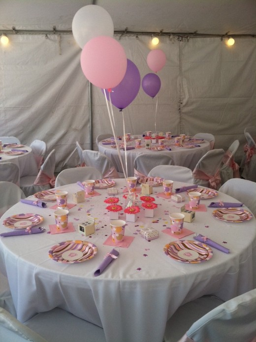 girl baby shower table decorating ideas this tiny toes pink baby