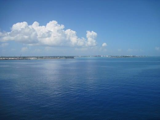 View from Nassau, Bahamas
