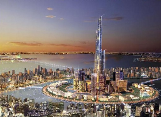 Madinat al-Hareer, 3,284 ft, Dubai - 80+ Floors