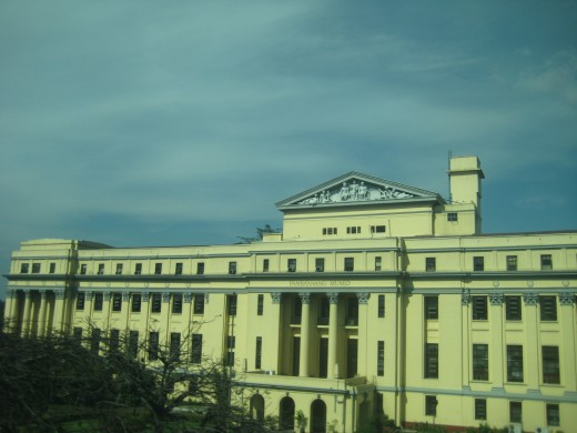 Philippine National Museum, adjacent of Rizal Park