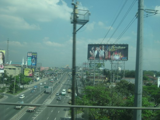 EDSA (Epifanio delos Santos) avenue, former Highway 54