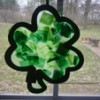How to make window decorations - St. Patrick's Day