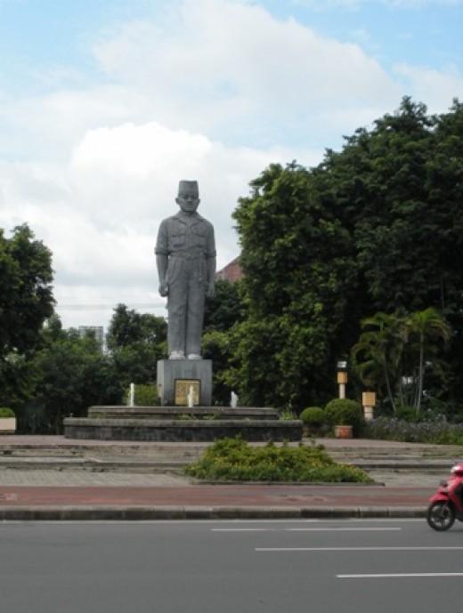 Monument in Surabaya.