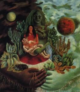 El Abrazo de Amor de el Universo, la Tierra, Yo, Diego, y el Senor Xoloto, 1949.
