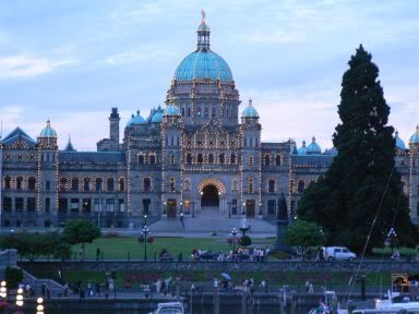 Parliament Buildings, Victoria, British Columbia, Canada