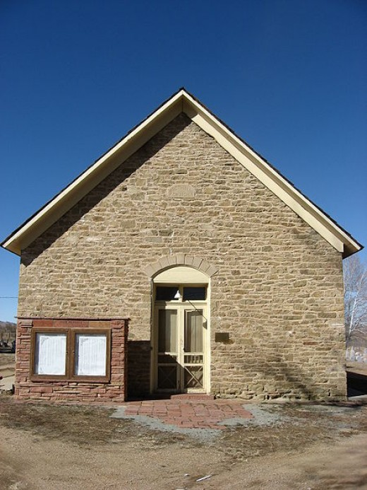 Church of the Brethren in the small community of Hygiene, Colorado