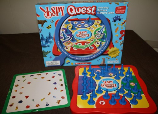 I Spy Quest, great for teaching matching and memory skills.