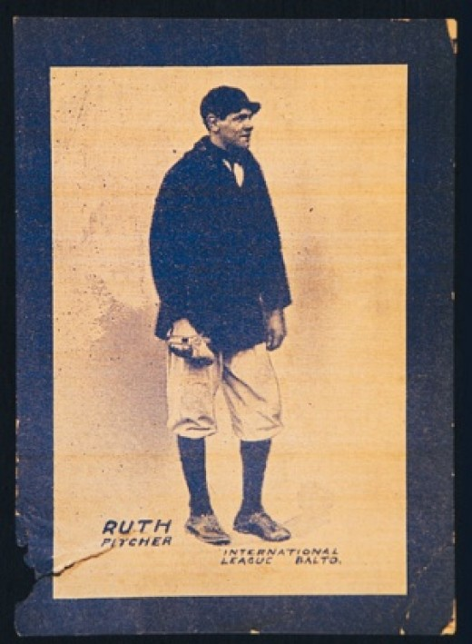 Babe Ruth long before he was the sultan of swat