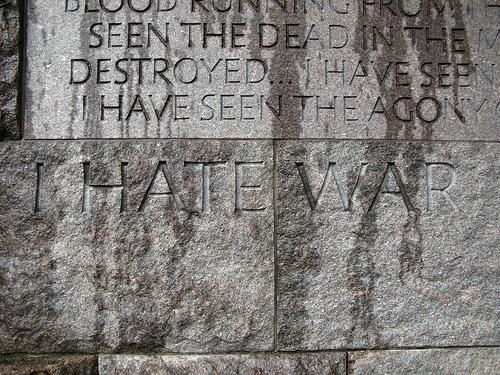 I HATE WAR from OakleyOriginals Source: flickr.com
