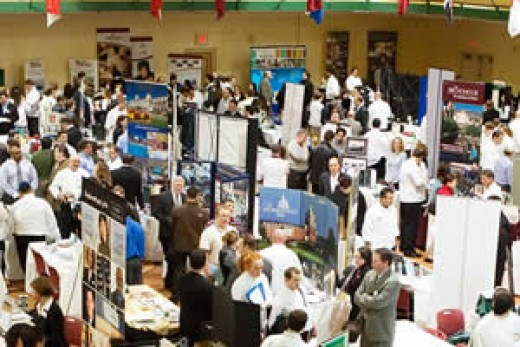 career fair at the Culinary Institute of America