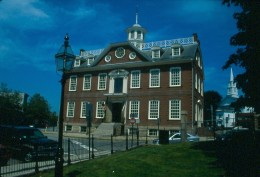 Old State House, or Old Colony House, Newport, Rhode Island.