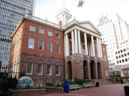 Old State House, Hartford, Connecticut.
