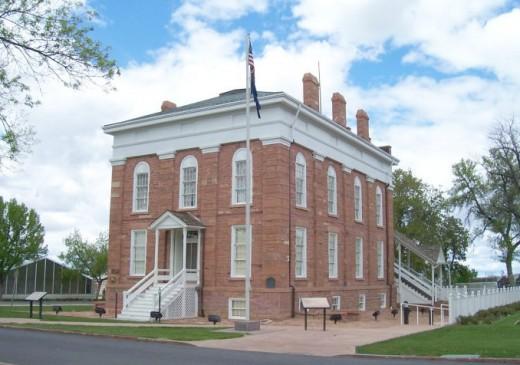 Old Territorial Capitol, Fillmore, Utah.