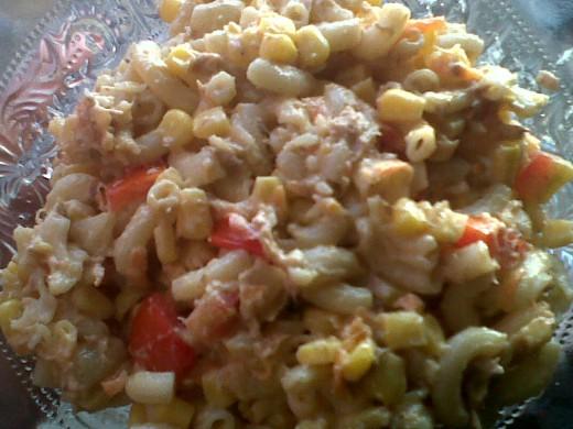 Tuna Casserole when finish cook