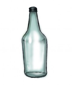 How to draw a water bottle