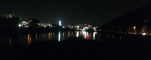 Bekasi at night
