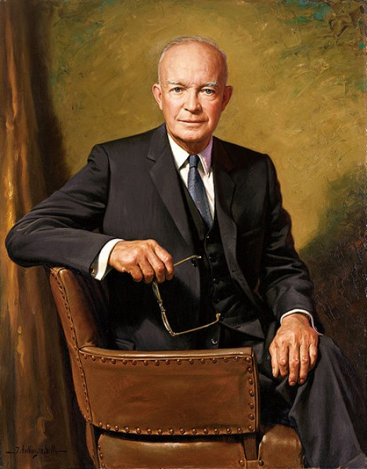 Dwight D Eisenhower, 34th president of the United States of America