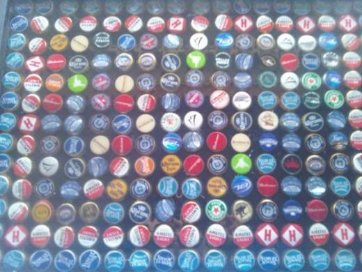 Beer Bottle Table Top.