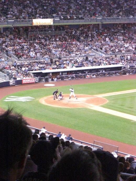 Jeter at Bat
