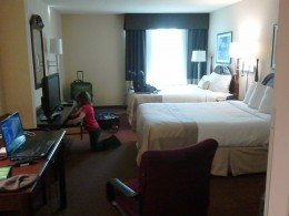 Our hotel in Allentown.