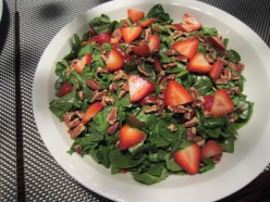 Spinach and Strawberrys