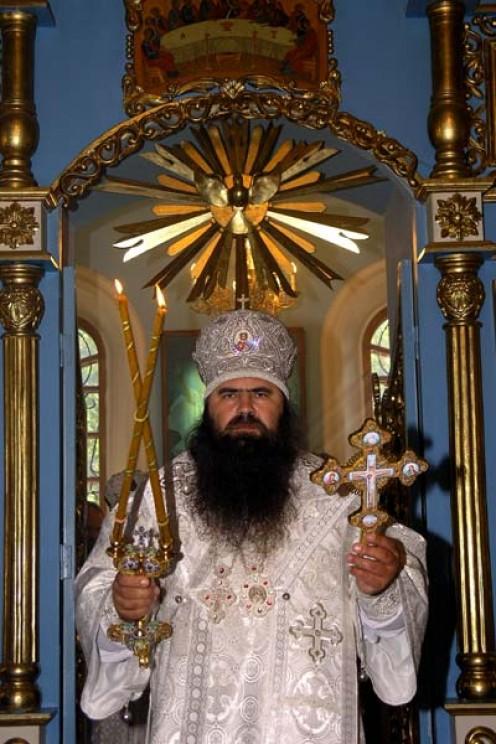 Russian orthodox Church with Sun Blaze