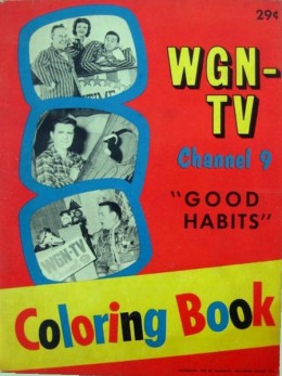 An Old School Coloring Book