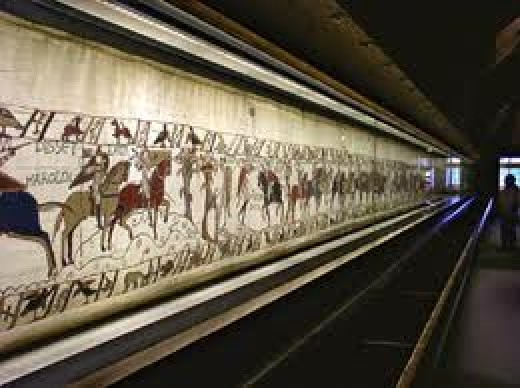 The Bayeux Tapestry on show