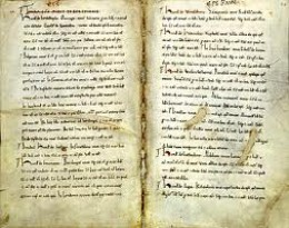 Entry for Odo's lands in Essex shown in 'Little Domesday'