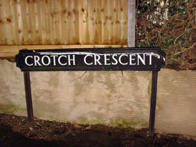 Crotch Crescent, United Kingdom.