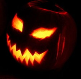 Jack-O-Lanterns have their origins in ancient beliefs that fire could protect the living from the souls of the dead who wandered abroad at Halloween.