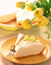 Key Lime Yogurt  Graham Cracker Crust Pie