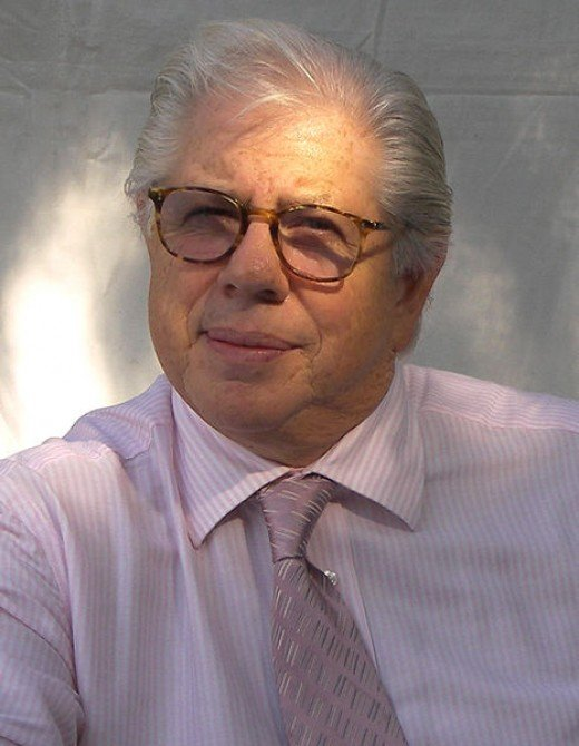 Carl Bernstein today, an author and newsman.
