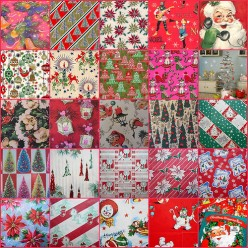 Vintage Wrapping Paper can really make a statement.