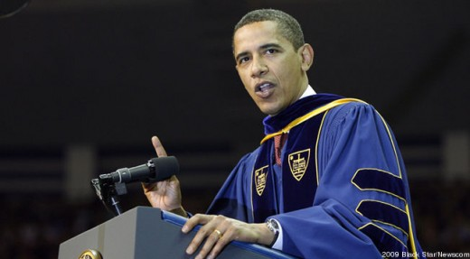 Obama pushing for college funding and improvement