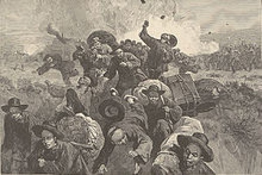 Massacre at  Rock Spring
