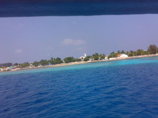 an inhabited island