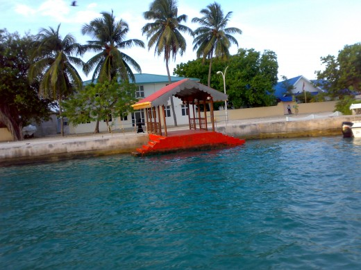 welcome everyone.............a small harbour [jetty]