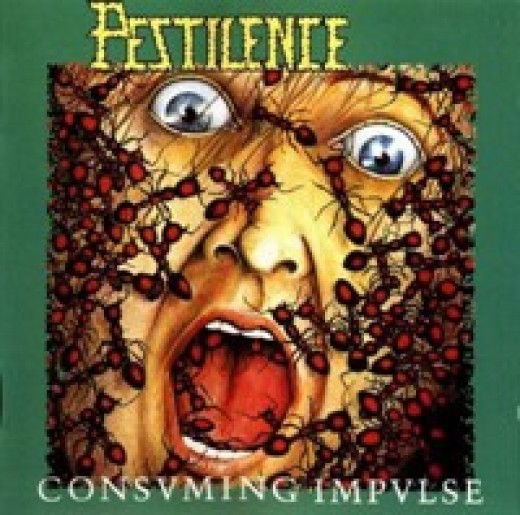 "The cover artwork for ""Consuming Impulse""."
