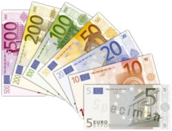 mixed euro notes